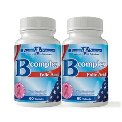 52160 B Complex Folic Acid Front