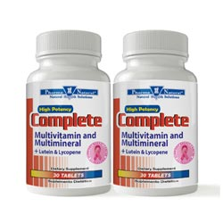 53830 Complete Multivitamin Front