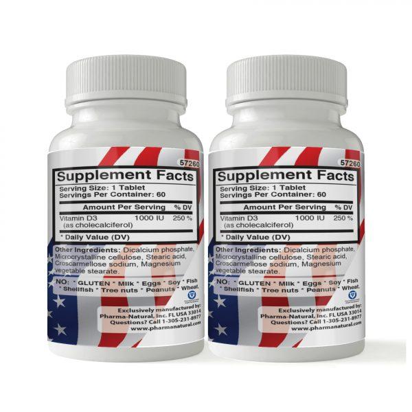57260 Vitamin D 1000