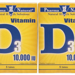 Vitamin D3 by PN 10,000 iu
