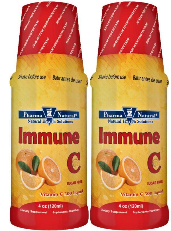 PN 66204 Immune C Liquid 4 oz Front