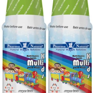 PN 72604 Multivitamin Liquids for Kids 4 oz Front