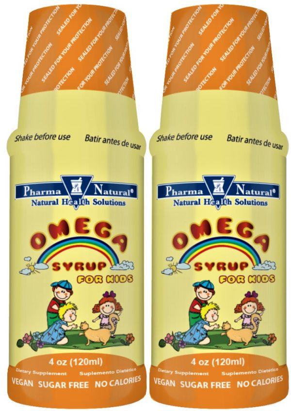 PN 76304 Omega 3 Liquid 4 oz Front