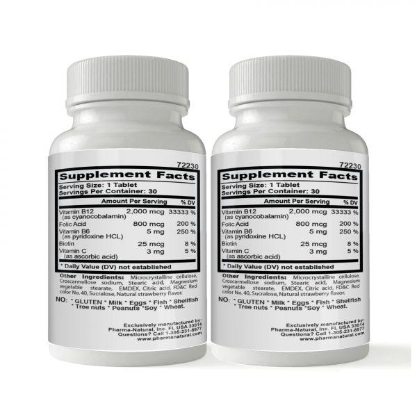 72230 Vitamin B12 2000 Back