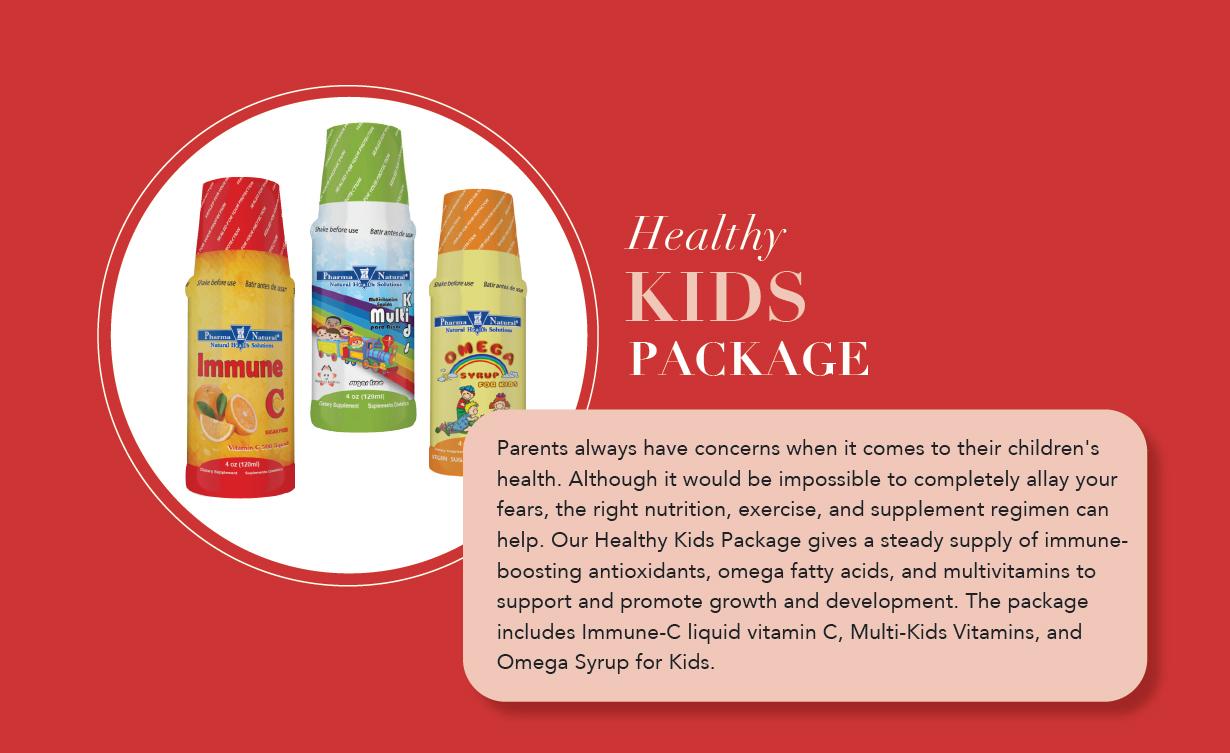 Healthy KIDS Package