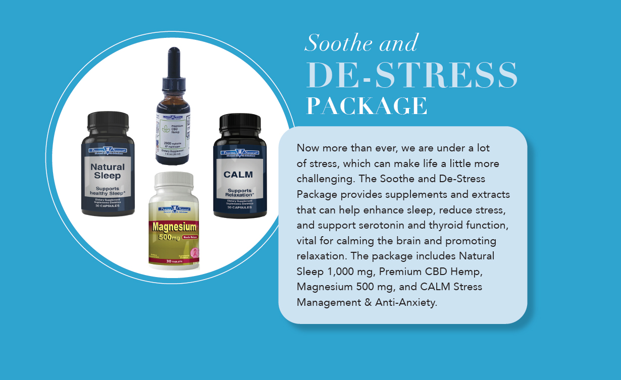 Soothe and DE-STRESS Package